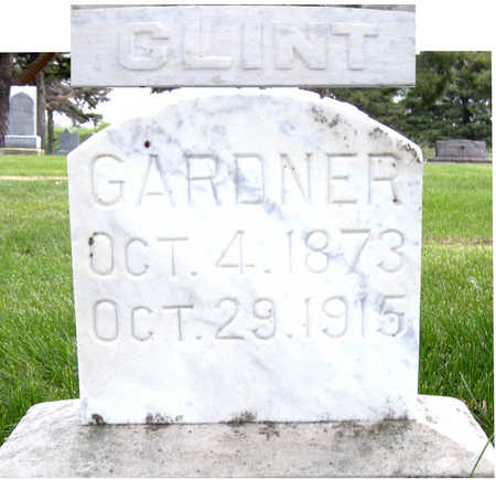 GARDNER, CLINT - Lyon County, Iowa | CLINT GARDNER
