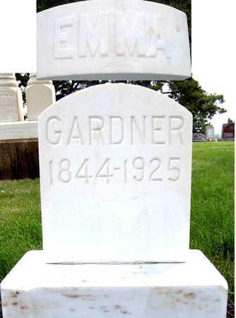 GARDNER, EMMA - Lyon County, Iowa   EMMA GARDNER
