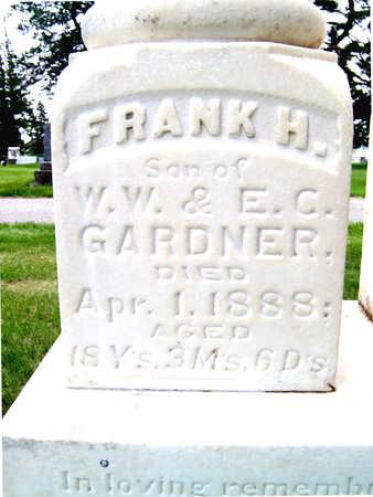 GARDNER, FRANK - Lyon County, Iowa | FRANK GARDNER