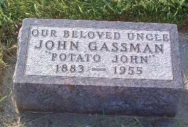GASSMAN, JOHN - Lyon County, Iowa | JOHN GASSMAN