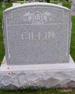 GILLIN, FAMILY HEADSTONE - Lyon County, Iowa | FAMILY HEADSTONE GILLIN