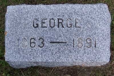GILLIN, GEORGE - Lyon County, Iowa | GEORGE GILLIN