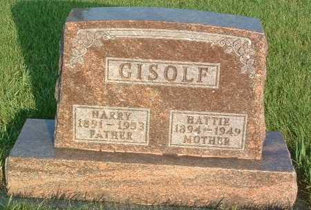 GISOLF, HARRY - Lyon County, Iowa | HARRY GISOLF