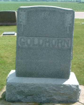 GOLDHORN, HEADSTONE - Lyon County, Iowa | HEADSTONE GOLDHORN