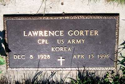 GORTER, LAWRENCE - Lyon County, Iowa   LAWRENCE GORTER
