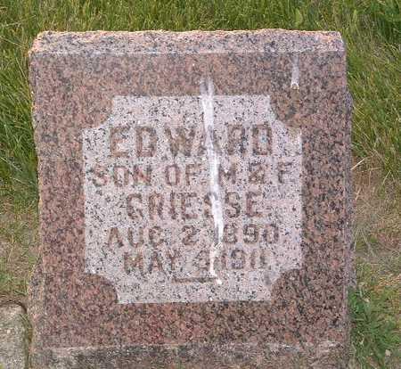 GRIESSE, EDWARD - Lyon County, Iowa | EDWARD GRIESSE
