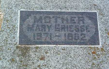 GRIESSE, MARY - Lyon County, Iowa | MARY GRIESSE