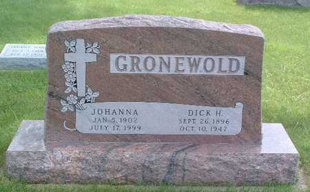 GRONEWOLD, DICK H. - Lyon County, Iowa | DICK H. GRONEWOLD