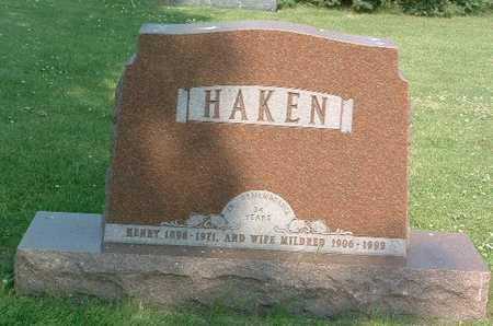 HAKEN, MILDRED - Lyon County, Iowa | MILDRED HAKEN