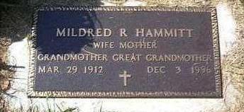 BONANDER HAMMITT, MILDRED R. - Lyon County, Iowa | MILDRED R. BONANDER HAMMITT