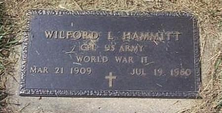 HAMMITT, WILFORD L. - Lyon County, Iowa   WILFORD L. HAMMITT
