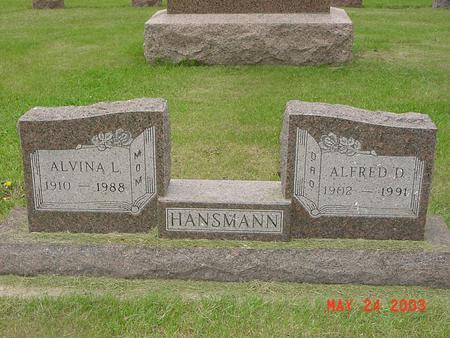HANSMANN, ALFRED - Lyon County, Iowa | ALFRED HANSMANN