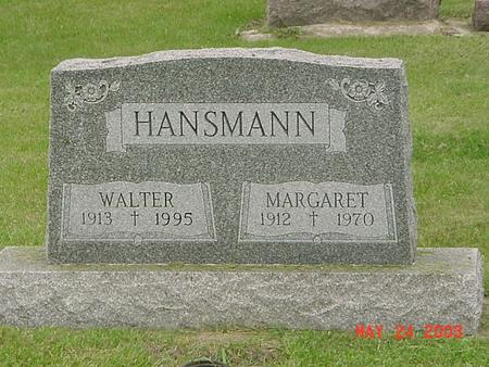 HANSMANN, MARGARET - Lyon County, Iowa | MARGARET HANSMANN