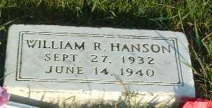 HANSON, WILLIAM R. - Lyon County, Iowa | WILLIAM R. HANSON