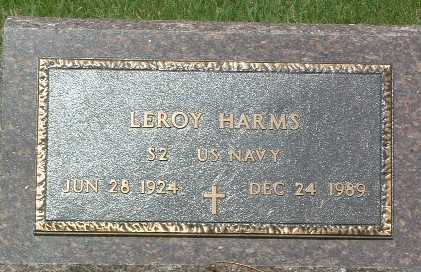 HARMS, LEROY - Lyon County, Iowa | LEROY HARMS