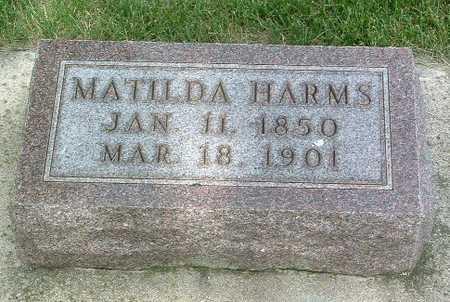 HARMS, MATILDA - Lyon County, Iowa | MATILDA HARMS