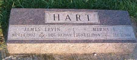 HART, JAMES ERVIN - Lyon County, Iowa   JAMES ERVIN HART