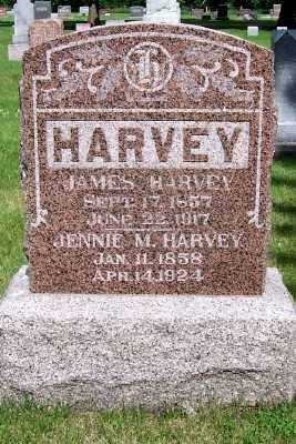 HARVEY, JAMES - Lyon County, Iowa | JAMES HARVEY