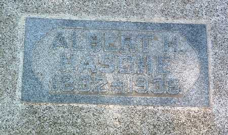 HASCHE, ALBERT H. - Lyon County, Iowa | ALBERT H. HASCHE