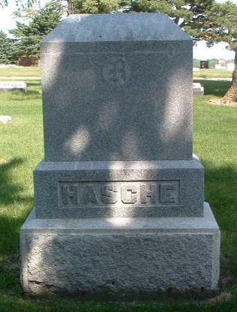 HASCHE, HEADSTONE - Lyon County, Iowa | HEADSTONE HASCHE