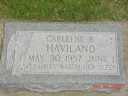 HAVILAND, CARLEENE - Lyon County, Iowa | CARLEENE HAVILAND