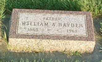HAYDEN, WILLIAM A. - Lyon County, Iowa | WILLIAM A. HAYDEN