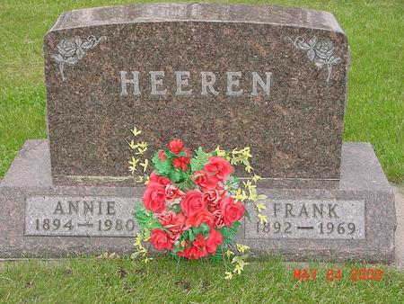 HEEREN, ANNIE - Lyon County, Iowa | ANNIE HEEREN