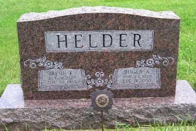 HELDER, IRENE E. (1929-1985) - Lyon County, Iowa | IRENE E. (1929-1985) HELDER