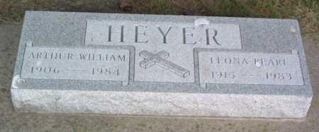 HEYER, ARTHUR WILLIAM - Lyon County, Iowa | ARTHUR WILLIAM HEYER