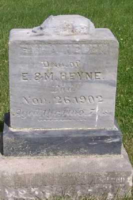 HEYNE, EMMA HELEN - Lyon County, Iowa | EMMA HELEN HEYNE