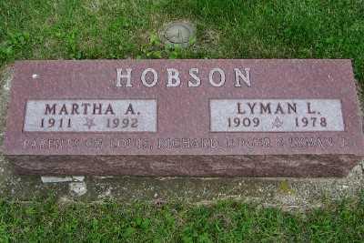 HOBSON, LYMAN L. - Lyon County, Iowa | LYMAN L. HOBSON