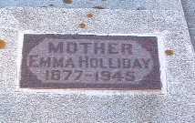 HOLLIDAY, EMMA - Lyon County, Iowa | EMMA HOLLIDAY