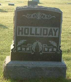 HOLLIDAY, FAMILY HEADSTONE - Lyon County, Iowa | FAMILY HEADSTONE HOLLIDAY