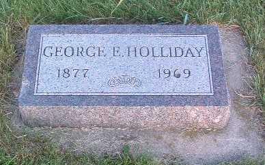 HOLLIDAY, GEORGE E. - Lyon County, Iowa | GEORGE E. HOLLIDAY
