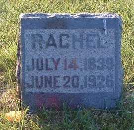 HOLLIDAY, RACHEL - Lyon County, Iowa   RACHEL HOLLIDAY