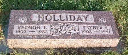 HOLLIDAY, VERNON L. - Lyon County, Iowa | VERNON L. HOLLIDAY