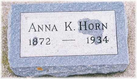HORN, ANNA K. - Lyon County, Iowa | ANNA K. HORN