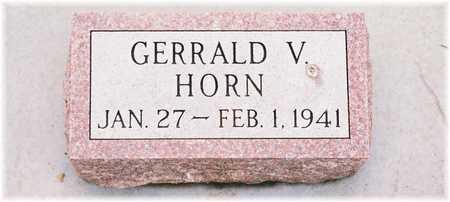 HORN, GERRALD V. - Lyon County, Iowa | GERRALD V. HORN