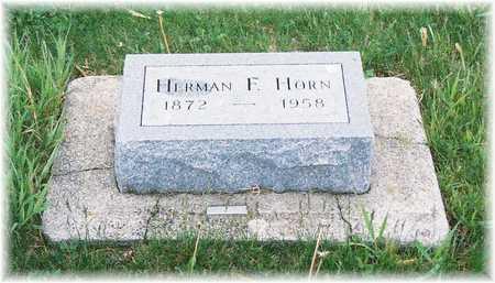 HORN, HERMAN F. - Lyon County, Iowa | HERMAN F. HORN