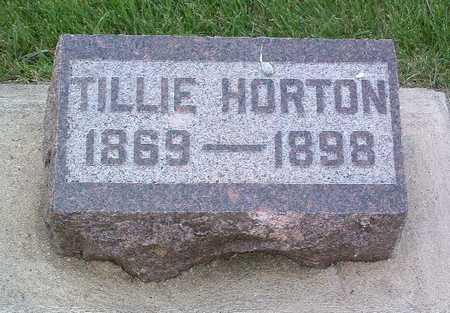 HORTON, TILLIE - Lyon County, Iowa | TILLIE HORTON