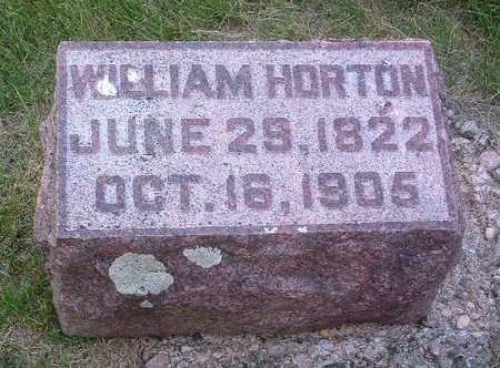 HORTON, WILLIAM - Lyon County, Iowa | WILLIAM HORTON