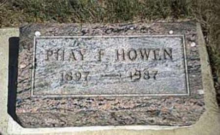HOWEN, PHAY - Lyon County, Iowa | PHAY HOWEN