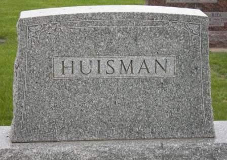 HUISMAN, FAMILY HEAD STONE - Lyon County, Iowa | FAMILY HEAD STONE HUISMAN