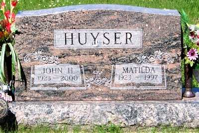 HUYSER, MATILDA - Lyon County, Iowa | MATILDA HUYSER