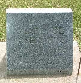 ISEBRANDS, CLARENCE - Lyon County, Iowa | CLARENCE ISEBRANDS