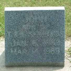 ISEBRANDS, JOHN - Lyon County, Iowa | JOHN ISEBRANDS