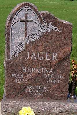 JAGER, HERMINA - Lyon County, Iowa | HERMINA JAGER