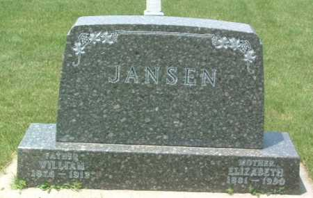 JANSEN, ELIZABETH - Lyon County, Iowa | ELIZABETH JANSEN