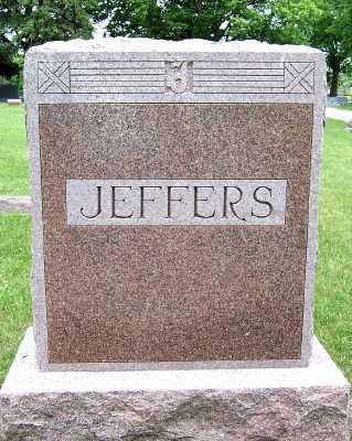 JEFFERS, HEADSTONE - Lyon County, Iowa | HEADSTONE JEFFERS
