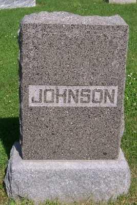 JOHNSON, FAMILY HEADSTONE - Lyon County, Iowa | FAMILY HEADSTONE JOHNSON